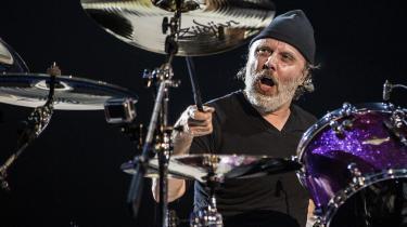 Refshaleøen bliver første stop på Metallicas europæiske festivaltour. Det kan måske forklares med trommeslager Lars Ulrichs (på billedet) aldrig svigtende kærlighed til sit danske hjemland.