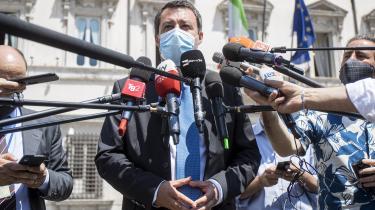 Premierminister Mario Draghi er lunken overfor at forlænge forbuddet mod at fyre folk, som blev indført i forbindelse med COVID-19.