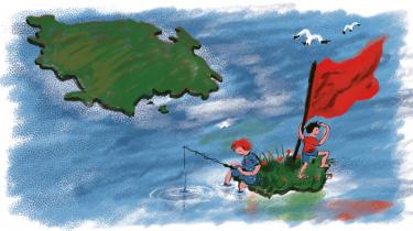 Kommunen strækker sig i dag fra Als, hen over Det Sydfynske Øhav til Langeland og videre et godt stykke ind over Vestlolland. Mod nord er kommunegrænsen lidt uklar, eftersom vi ikke har nogle grænser i den forstand, skriver Eskil Halberg i denne utopiske kronik om Svendborg