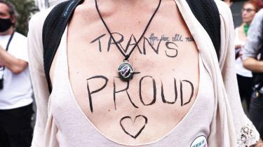 Transpersoner er blevet de nye fortalere for stereotype kønsroller, hævder svenske Kajsa Ekis Ekman i sin nye bog. Den slags flossede argumenter bør ikke stå uimodsagt, skriver litteraturanmelder Mathilde Moestrup i denne klumme