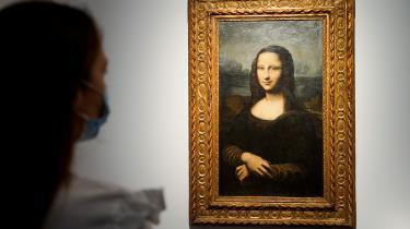Mona Lisa-kopien 'Hekking Mona Lisa' er blevet solgt på auktion for 21,7 millioner kr.