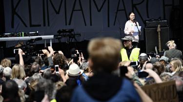 Forskerne peger på den svenske klimaaktivist Greta Thunbergs besøg i København som en skelsættende begivenhed. Efter hendes tale på Christiansborgs Slotsplads i forbindelse med klimamarchen den 25. maj 2019 kom klimaspørgsmålet straks til at dominere blandt alle partiers vælgere.