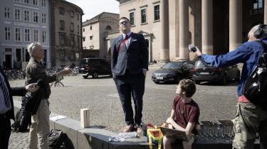 Talspersonen for Foreningen imod Ulovlig Logning, Rasmus Malver, havde champagnem klar foran byretten tirsdag, men måtte gå skuffet derfra.