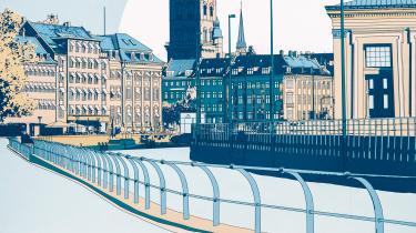 Forfatter Niels Barfoed fordyber sig i byens dybe stille ro