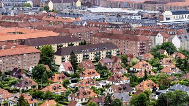 Danmark er et af de fire lande i EU, som har færrest ejerboliger.