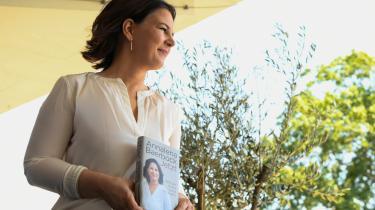 De Grønnes kanslerkandidat Annalena Baerbocks nye politiske selvbiografi består af en del plagiat.