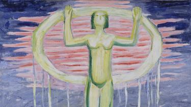 Et tindrende kunstnermøde mellem store danske modernistiske malere på GL STRAND i København får først og fremmest Olivia Holm-Møller frem i lyset, hvor hun bør blive fra nu af