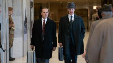 Gode miner til slet spil hos den sovjetiske officer Oleg (Merab Ninidze) og den britiske forretningsmand Greville (Benedict Cumberbatch), der i begyndelsen af 1960'erne er med til at redde verden fra Tredje Verdenskrig i 'Den gode spion'.