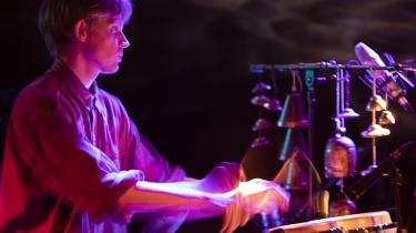 Koncert med 'Erna' ved jazzfestivalprogrammet 'Ond Jazz' på Loppen.
