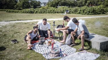 Vandpiperygende gæster 'misbruger' Bellevue Strand i Gentofte og er ikke velkomne ifølge den konservative lokalpolitiker Andreas Weidinger.