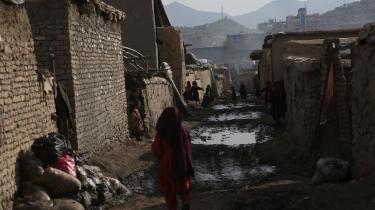 Flygtningelejr i Kabul i april 2021. Talebans voksende magt i Afghanistan har sendt et stigende antal afghanere på flugt. Ngo'erne er i gang med at forberede sig på store flygtningestrømme og forudser, at det vil være vanskeligt at fortsætte aktiviteter for piger og kvinder.