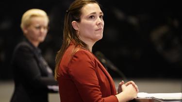 Astrid Krag ved præsentationen af udspillet 'Børnene først' i januar 2021. At udsathed stadig ofte går i arv, er den største uretfærdighed, der findes, skriver social- og ældreministeren i denne kronik.
