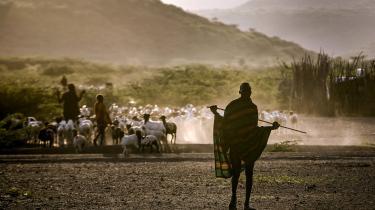 Turkana i den nordvestlige del af Kenya oplever hyppigere og længere tørkeperioder på grund af klimaforandringer.