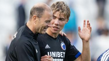 Det er et FC København-hold i søgen efter sin spillemæssige identitet, der søndag eftermiddag træder an mod Brøndby i Parken til sæsonens første derby