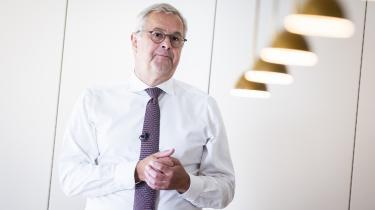 Administrerende direktør for A.P. Møller – Mærsk, Søren Skou, mener, at det er meget svært for virksomheder at gøre Information tilfreds.