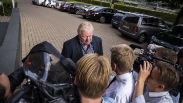 Tidligere folketingspolitiker for Dansk Folkeparti Kim Christiansen forklarede i Retten i Lyngby tirsdag, at han ikke havde deltaget i et MELD-arrangement i august 2015, som Morten Messerschmidt modtog knap 100.000 kroner i støtte til.