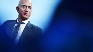 Verdens rigeste mænd står bag udledninger, der er mange gange større end de fattigste lande. På billedet er det en mand fra den absolutte pengetop, Amazon-stifteren Jeff Bezos.