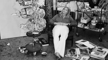 Svenske Mamma Anderssons malerier på Louisiana er mørke, vibrerende af intensitet og dybt dragende. Hun kan male stemninger som ind i helvede med en teknik, der aldrig er kedelig og statisk