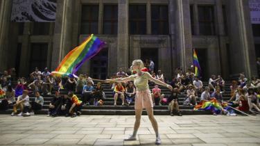 Polens 'pride parade', der fandt sted den 14. august, trak i år flere deltagere end de tidligere år, mens antallet af fremmødte til moddemonstrationer var faldet.
