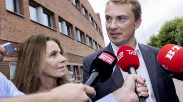 Morten Messerschmidt bruger klagen over dommeren til at fremstille sig selv som en forfulgt uskyldighed, sådan som han har gjort det, siden sagen begyndte at rulle tilbage i 2015.