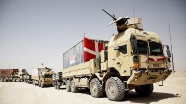 En historisk milepæl blev passeret, da danske soldater i samlet flok forlod basen Camp Price ved Gereshk og Helmandfloden efter seks års kamphandlinger.