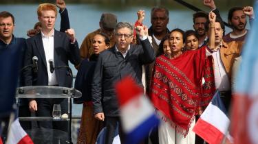 Den 70-årige præsidentkandidat Jean-Luc Mélenchon glædede sig i den forgangne uge over fremgang i meningsmålingerne.