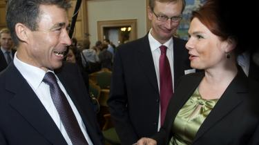 Inger Støjbergs mentalitet minder en del om hendes gamle chef Fogh Rasmussens. Slående er deres fælles dedikation til det jyske nærsamfunds snusfornuftige livsforståelse