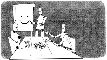 For 100 år siden blev ordet robotfor første gang introduceret i vores sprog af en tjekkisk kunstner. Siden har man talt om, at robotterne kommer og tager vores job. Det er ikke en rar tanke. Men vi er først for alvor på spanden, når de også overtager vores pseudoarbejde. Her er fem scenarier fra en snarlig fremtid