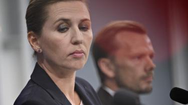 Statsminister Mette Frederiksen (S) og beskæftigelsesminister Peter Hummelgaard (S) præsenterede tirsdag reformpakken Danmark kan mere I.
