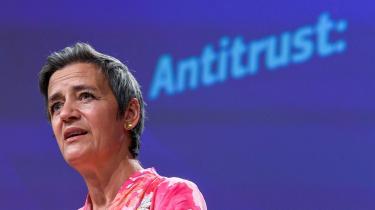 EU har med Margrethe Vestager som primus motor investeret heftigt i en Bosch-fabrik i Dresden, der skal levere halvledere til mikrochips i et forsøg på at imødekomme den store efterspørgsel.