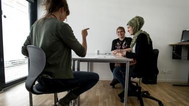 Danskundervisning på Sprogcenter Midt i Tørring i Hedensted Kommune.