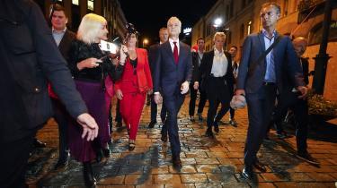 Arbejderpartiets leder, Jonas Gahr Støre, er sandsynligvis Norges næste statsminister.
