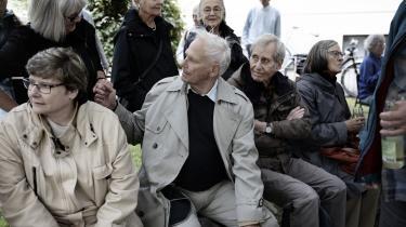 »De bange Mænd var dem, som vandt Krigen. Vi var alle sammen bange – en gang imellem eller engang i Begyndelsen,« skrev Børge Outze, som grundlagde denne avis, og som i denne uge fik en plads opkaldt efter sig på Frederiksberg, i en tankevækkende leder.