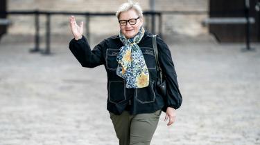 Lykke Sørensen var afdelingschef i Udlændinge- og Integrationsministeriet, mens Inger Støjberg var minister. Det lykkedes Støjbergs forsvarere at sætte hende under pres under dagens afhøring.