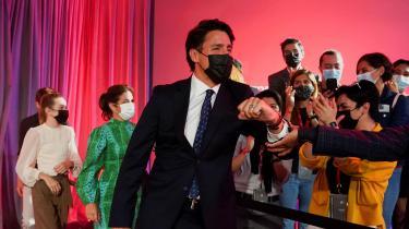 Den canadiske premierminister, Justin Trudeau, havde håbet, at et nyvalg to år inde i valgperioden og efter en relativ succesrig pandemipolitik ville indkassere et flertal i parlamentet, som han havde tabt i 2019. I stedet må han nøjes med at fortsætte som leder af en mindretalsregering