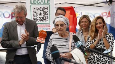 På få dage i september er der blevet indsamlet over en halv million underskrifter i Italien, der er det nødvendige antal for at udløse en folkeafstemning om legalisering af cannabis.