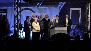 Efter at Angela Merkel har holdt sig i baggrunden i den tyske valgkamp, trådte hun tidligere på ugen frem på scenen i hendes valgkreds Stralsund for at vise sin støtte til Armin Laschet og kaste lidt glans over ham i slutningen af valgkampen.