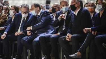I Avignon mødtes den franske præsident Emmanuel Macrons allerivrigste støtter – de såkaldte macronister – til stormøde.