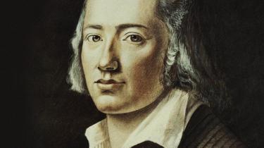 For digteren og tænkeren Friedrich Hölderlin befandt det europæiske menneske sig i slutningen af 1700-tallet og i begyndelsen af 1800-tallet i en slags 'helligt kaos', som varslede en kæmpemæssig forandring af livsvilkårene og tænkningen.