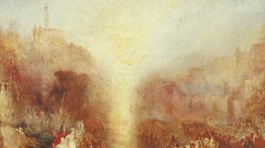 Joseph Mallord William Turners »The Visit to the Tomb«, udstillet 1850, olie på lærred. Photo: Tate