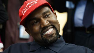 Ye, tidligere kendt som Kanye West, har skiftet navn »af personlige årsager«.