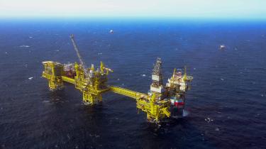 Forskere har fremdraget, at eksperter så tidligt som i 1971 i Totals eget brancheblad advarede om, at fortsat olie- og kulproduktion ville udløse katastrofale klimaforandringer. Her en af Totals platforme i Nordsøen 70 kilometer øst for Aberdeen.