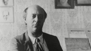Arnold Schönberg (1874-1951) i sit studie i 1911.