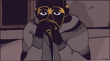 Læs den prisberømmede tegneserieskaber Halfdan Piskets fortælling om livet som uledsaget flygtningedreng
