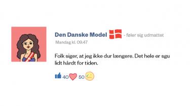 Det har været en hektisk uge for Den Danske Model, som er blevet taget som gidsel i de aktuelle overenskomstforhandlinger. Vi bringer her et uddrag fra Den Danske Models Facebook-profil
