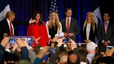 Mød familien Trump, som følger lige efter Donald Trump i Det Hvide Hus