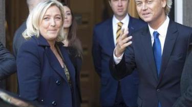 De to euroskeptiske og nationalistiske partileder mødes onsdag for at diskutere en eventuel alliance mellem deres to partier