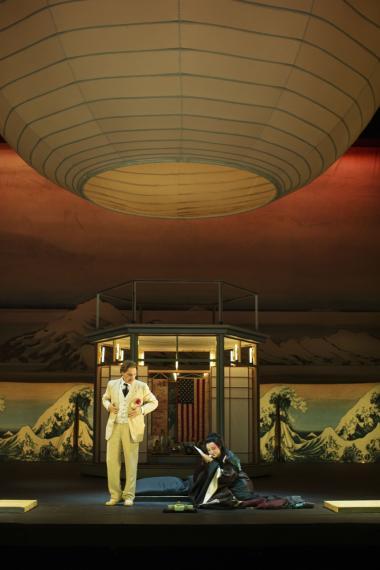 Der er færre, der ikke går i teatret, på museer eller til koncerter. Her er det operaen'Madame Butterfly'.