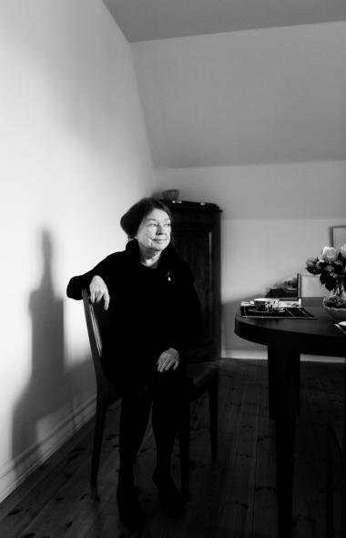Fascinationen af samfundets materielle velstand ligger vel i alle os, der er født under Anden Verdenskrig eller lige efter. Dengang havde man jo utroligt lidt, som barn har jeg aldrig fået en ny kjole, men har gået i omsyet tøj. Og skistøvler og skøjter var noget, man arvede, siger Dorrit Willumsen.
