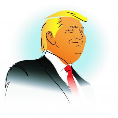 Trump indtager rollen som overmenneske, der skal standse nedslagtningen af Amerika og gøre landet stort igen. Han er superhelten, der kommer ind udefra og løser alle de problemer, som de almindelige politikere har skabt
